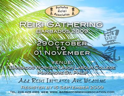 Reiki Gathering Flyer