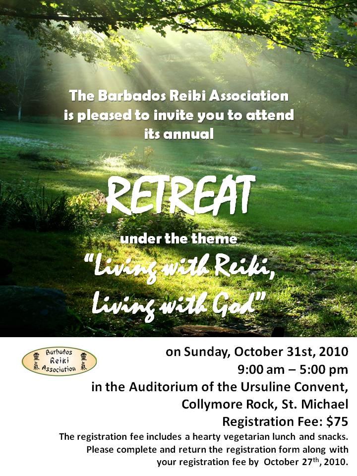 Barbados Reiki Association Retreat 2010 – Update