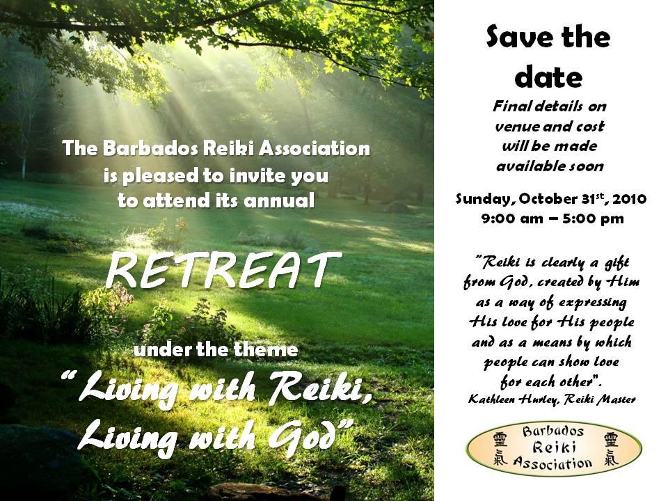 Barbados Reiki Association Retreat 2010
