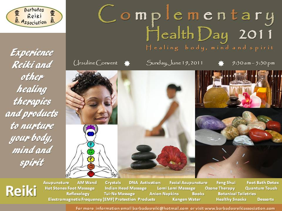 Barbados Reiki Association Complementary Health Day 2011