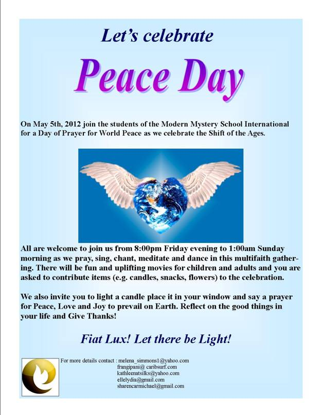 Peace Day - May 5th 2012