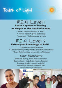 Touch of Light Reiki Classes