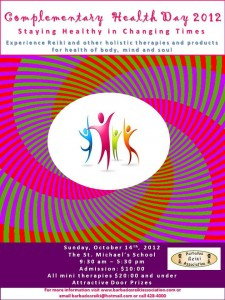 Complementary Health Day 2012