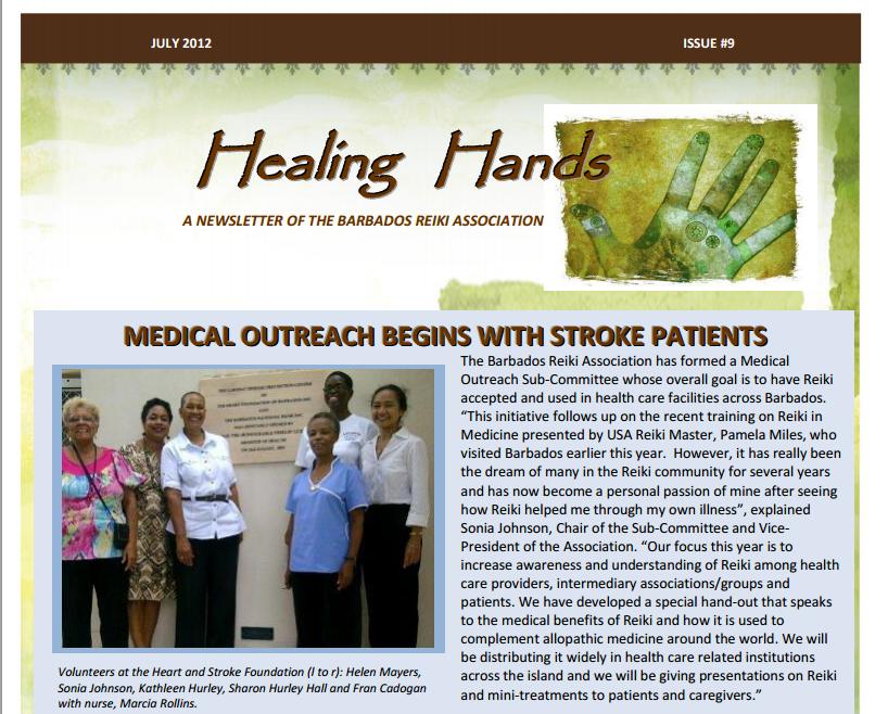 Healing Hands July 2012