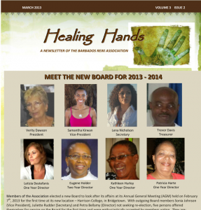 Healing Hands March 2013 Cover