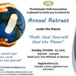 Barbados Reiki Association 2013 Retreat