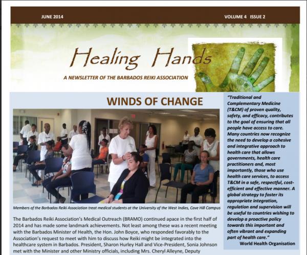 Healing Hands June 2014