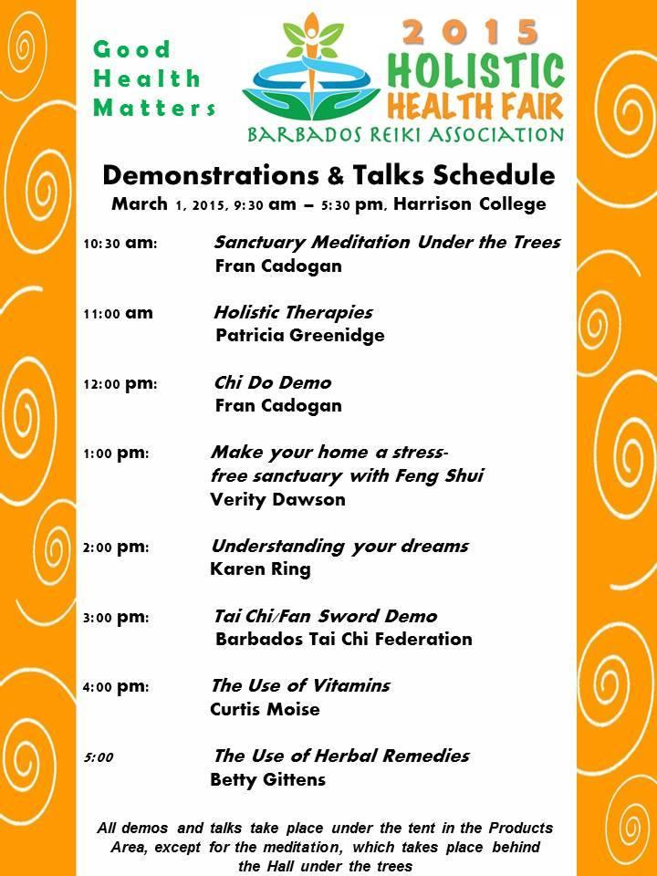 Holistic Health Fair This Weekend!