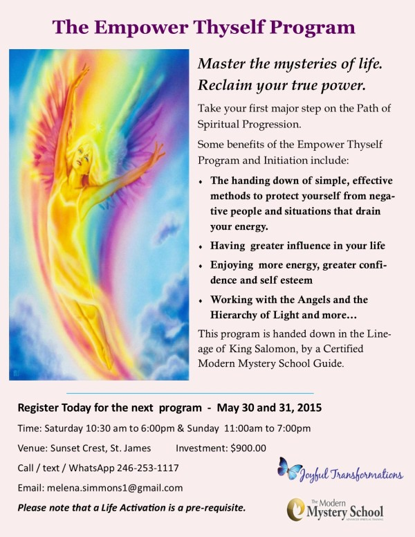 Courses from Members: Reiki, Feng Shui, Empower Thyself