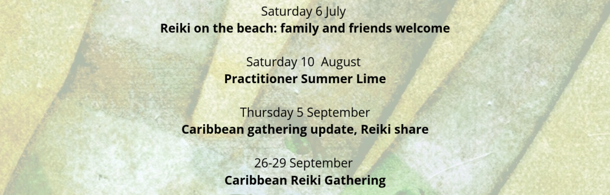 Barbados Reiki Association 2019 Event Calendar