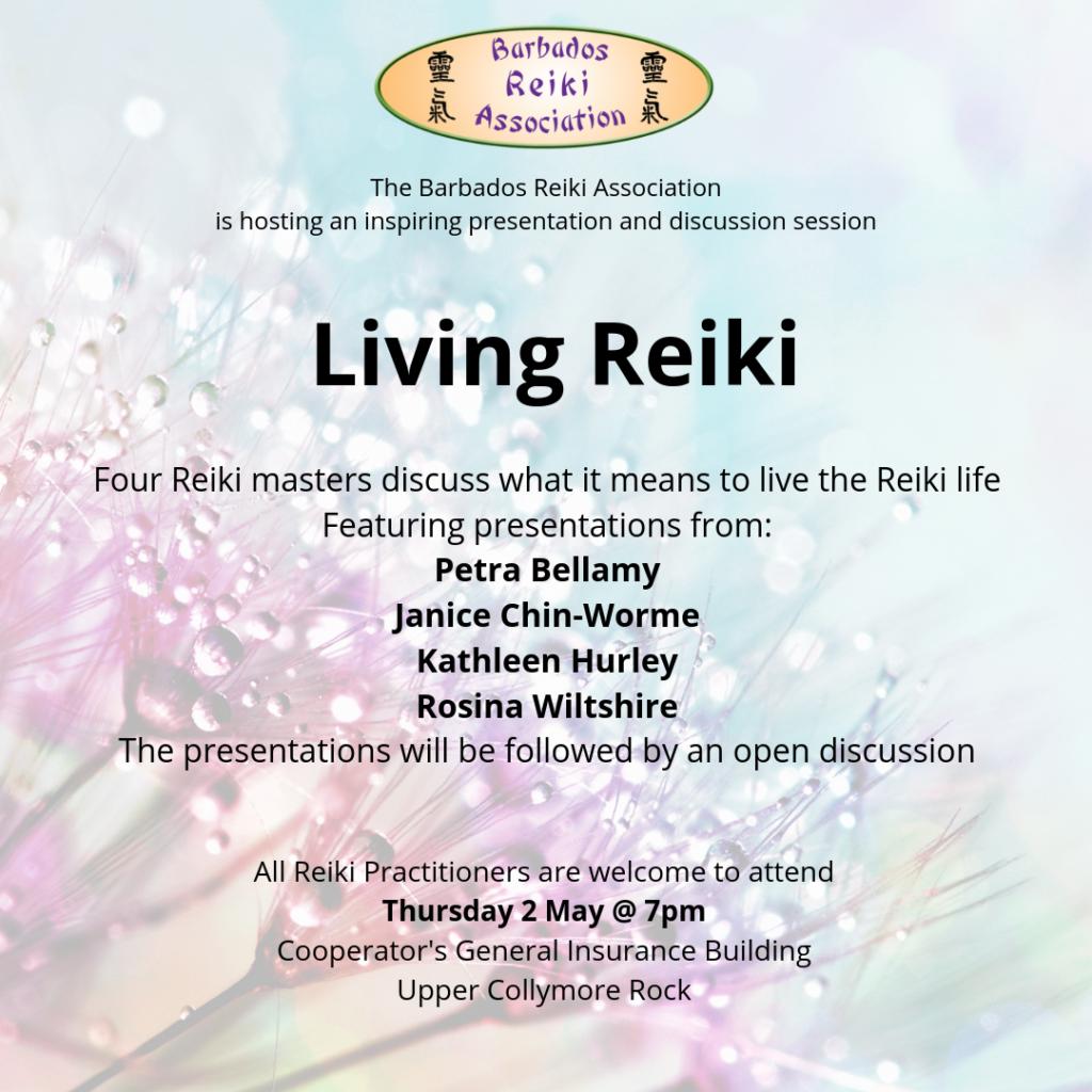 Living Reiki poster